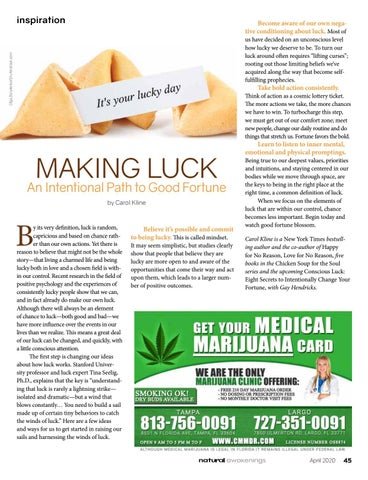 Page 45 of MAKING LUCK