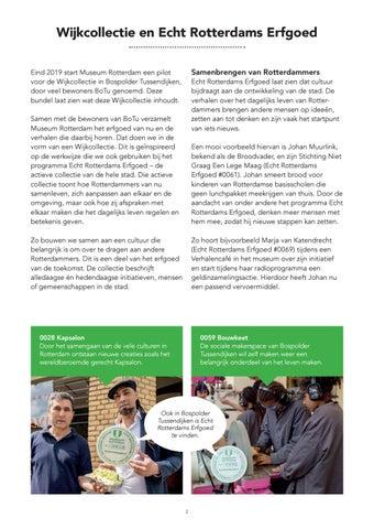 Page 4 of Wijkcollectie en Echt Rotterdams Erfgoed