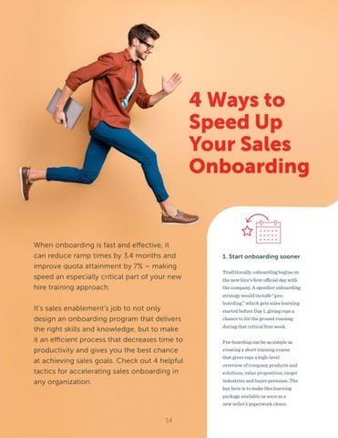 Page 14 of 4 Ways to Speed Up Your Sales Onboarding
