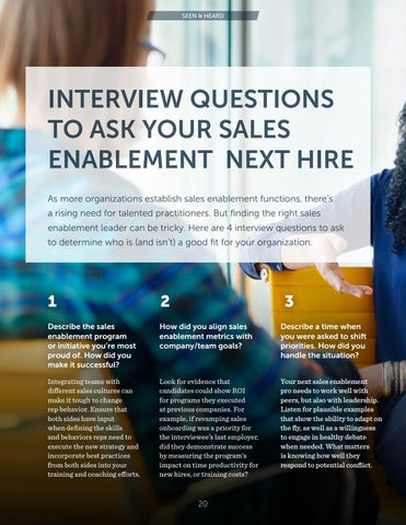 Page 20 of Interview Questions to Ask Your Sales Enablement Next Hire