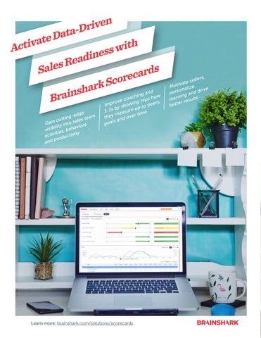 Page 6 of Activate Data-Driven Sales Readiness with Brainshark Scorecards