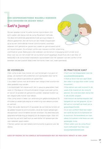 Page 17 of Meer rust in je gezin en in de klas: Leer ontstressen met deze makkelijke methodes