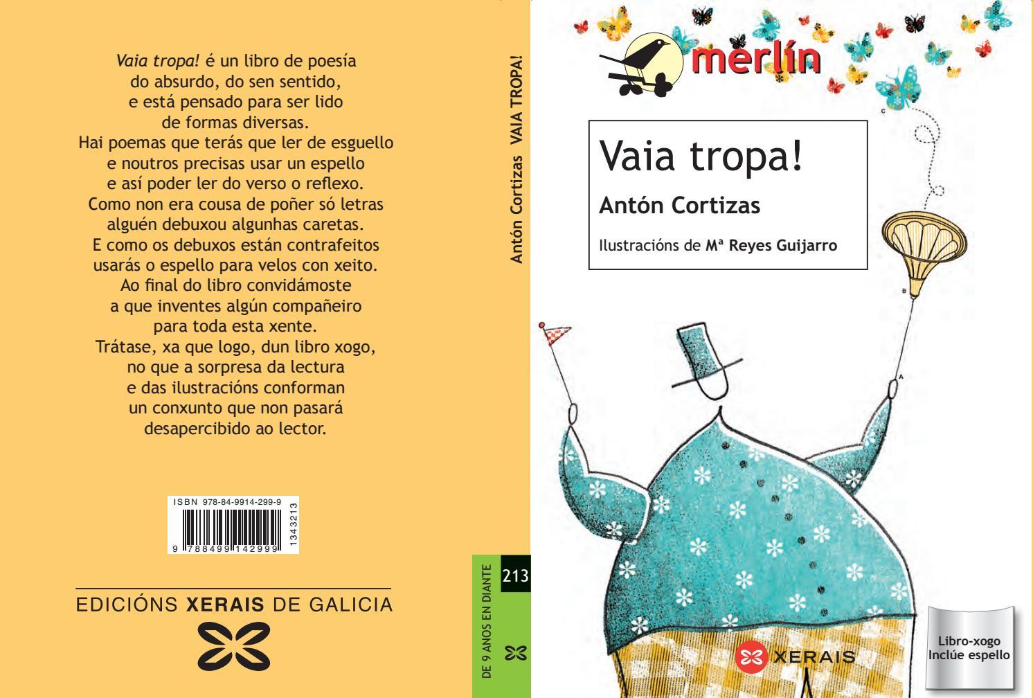 Vaia tropa!», de Antón Cortizas by Xerais - issuu
