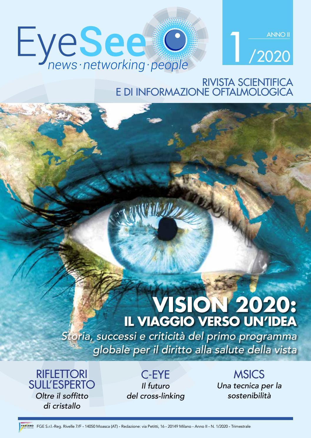 Eyesee 1 2020 By Rivista Sfogliabile Issuu