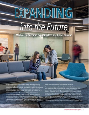 Page 17 of Cover Story: Expanding into the Future