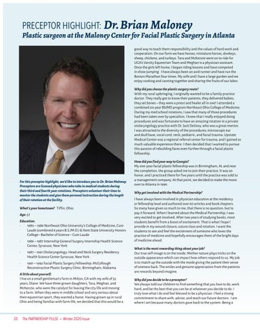 Page 20 of Preceptor Highlight: Dr. Brian Maloney