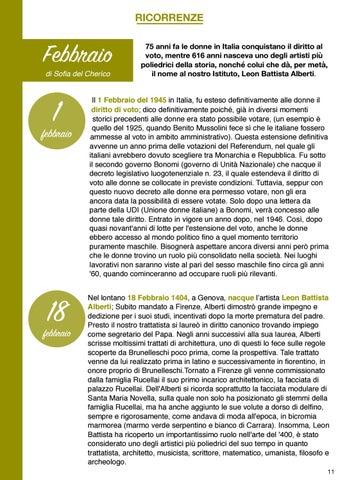 Page 12 of RICORRENZE - FEBBRAIO