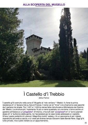 Page 27 of CASTELLO D'Ì TREBBIO