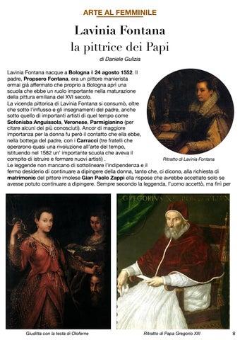 Page 9 of ARTE AL FEMMINILE - LAVINIA FONTANA