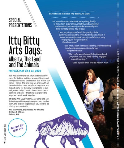 Page 14 of Itty Bitty Arts Days: Alberta, The Land and The Animals