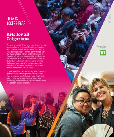 Page 27 of TD Arts Access Pass