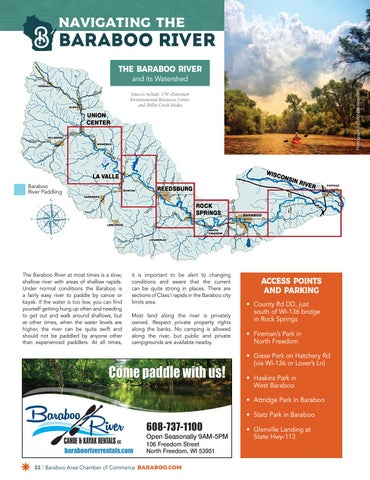 Page 22 of Navigating the Baraboo River