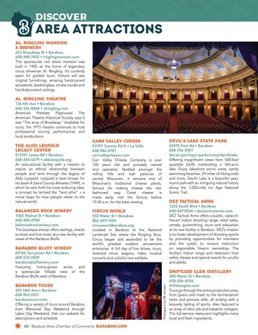 Page 26 of Discover Area Attractions
