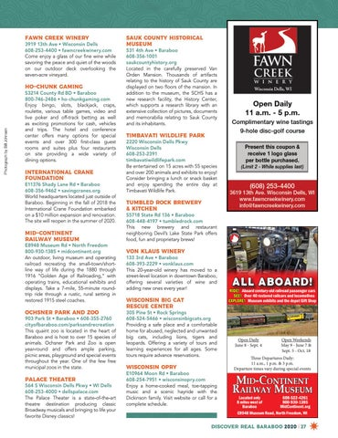 Page 27 of Discover Area Attractions