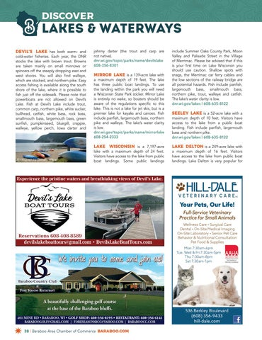 Page 28 of Discover Lakes & Waterways