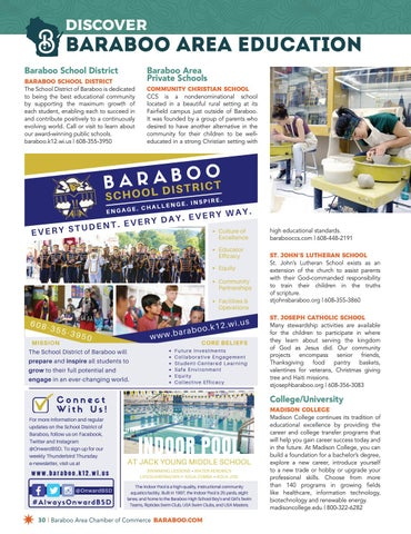 Page 30 of Baraboo Area Education and Places of Worship
