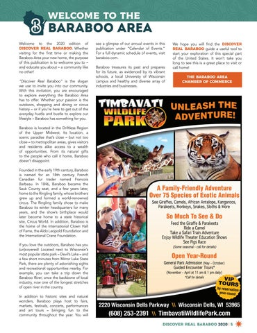 Page 5 of Welcome to the Baraboo Area