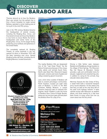 Page 6 of Discover The Baraboo Area