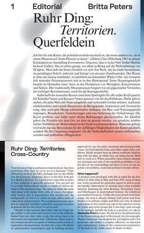 Page 3 of Britta Peters Ruhr Ding: Territorien. Querfeldein