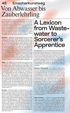 Page 50 of Emscherkunstweg. Von Abwasser bis Zauberlehrling
