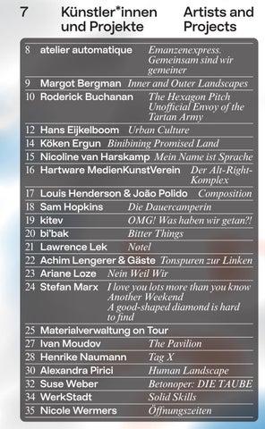 Page 9 of Ruhr Ding: Territorien Künstler*innen und Projekte