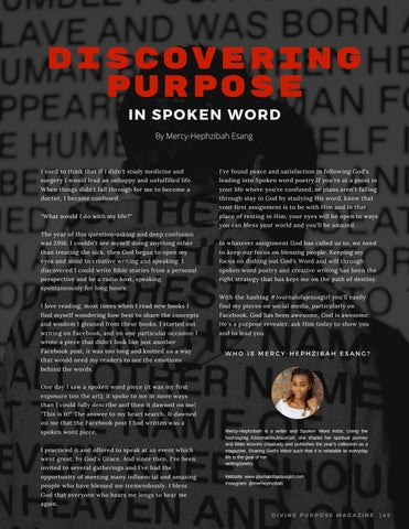 Page 47 of Discovering Purpose In Spoken Word