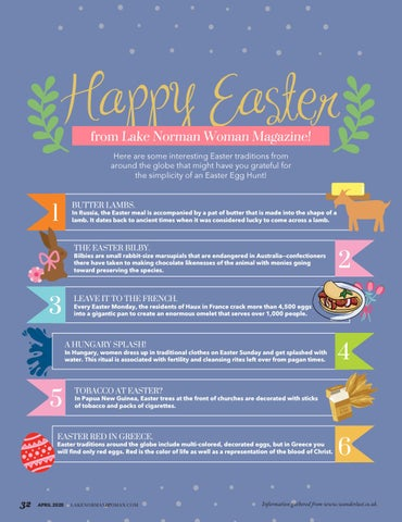 Page 32 of Easter Traditions From Around The World