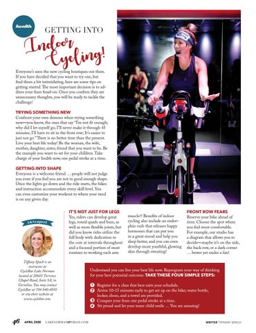 Page 46 of Getting Into Indoor Cycling