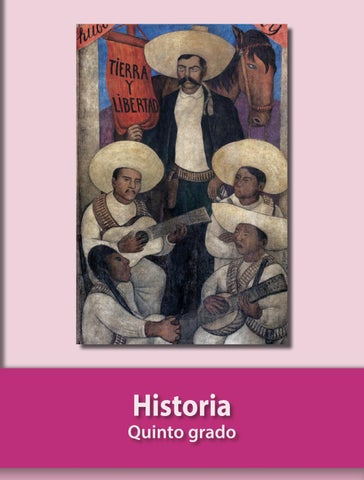 HISTORIA QUINTO GRADO LIBRO PARA EL ALUMNO SEP by vic