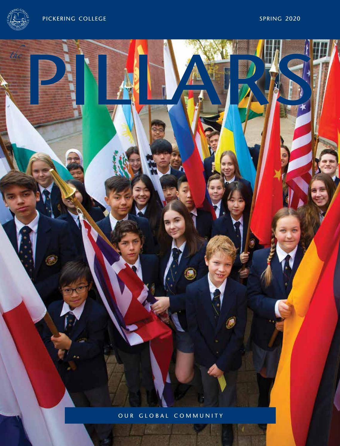 The Pillars Spring 2020 By Pickering College Issuu