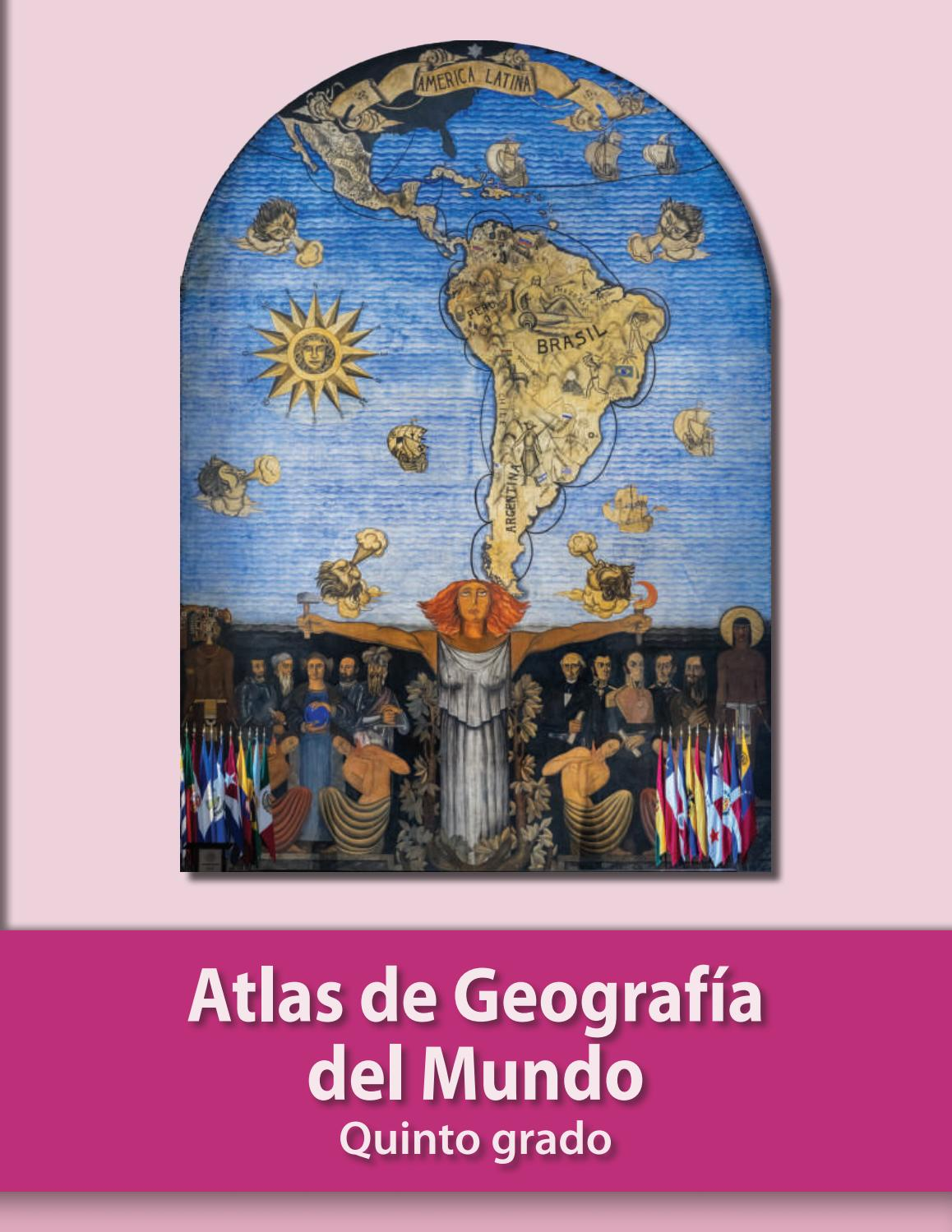 ATLAS DE GEOGRAFÍA DEL MUNDO QUINTO GRADO SEP by vic