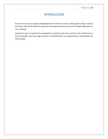 Page 3 of Introducción