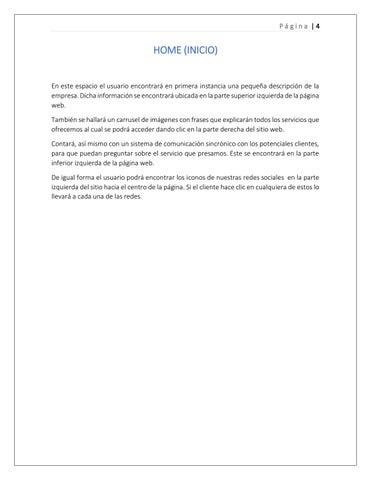Page 4 of Home (Inicio