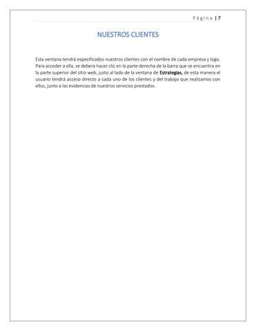 Page 7 of Nuestros clientes