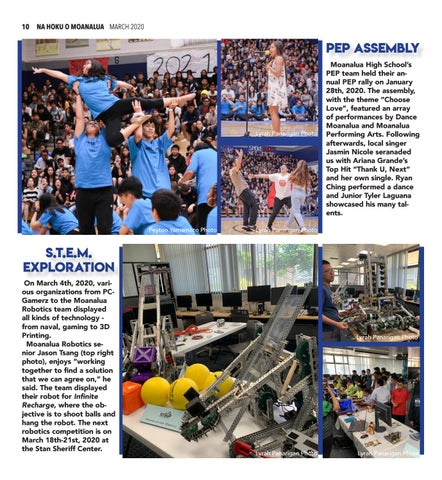 Page 10 of 11 MENE ACTIVITIES NEWS Not sure what happened this quarter? Take a look back at some highlights