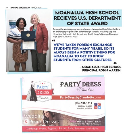 Page 14 of 14 FOREIGN EXCHANGE AWARD NEWS Our principal recieves an award on behalf of our school
