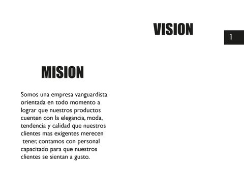 Page 3 of MISION Y VISION