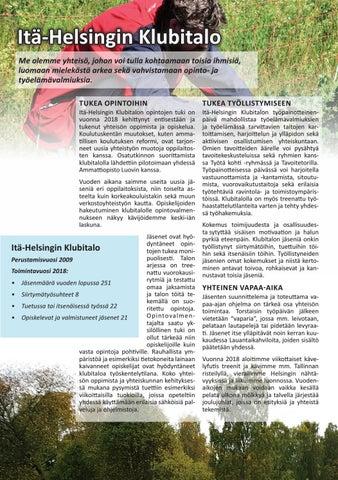 Page 10 of Itä-Helsingin Klubitalo