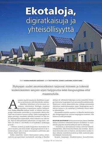 Page 10 of Ekotaloja, digiratkaisuja ja yhteisöllisyyttä