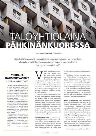 Page 14 of Taloyhtiölaina pähkinänkuoressa