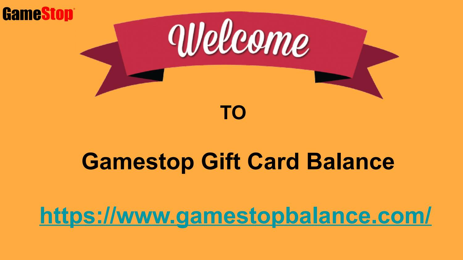how to check your balance on a gamestop gift card