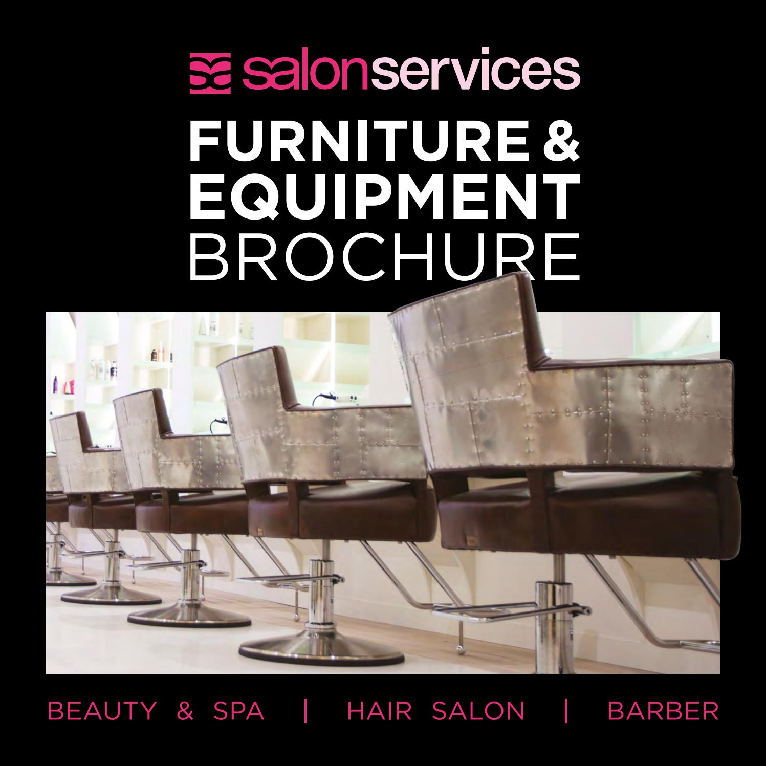 Salon Services Furniture Equipment Brochure 2020 By Sally Europe Issuu