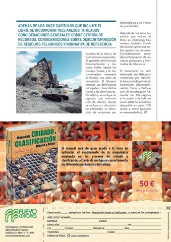 Page 33 of AEDED presenta la guía sobre el proyecto de demolición
