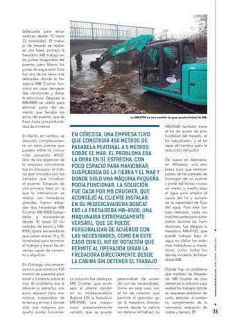 Page 35 of Trabajos en puentes y carreteras transitadas