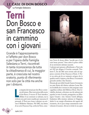 Page 14 of LE CASE DI DON BOSCO