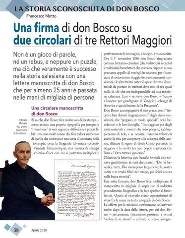 Page 38 of LA STORIA SCONOSCIUTA DI DON BOSCO
