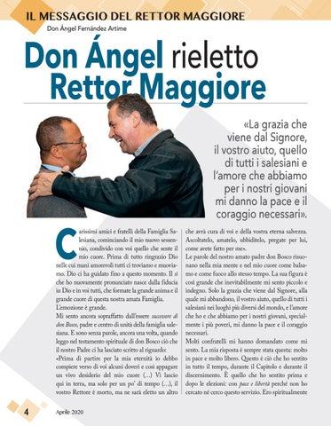 Page 4 of IL MESSAGGIO DEL RETTOR MAGGIORE