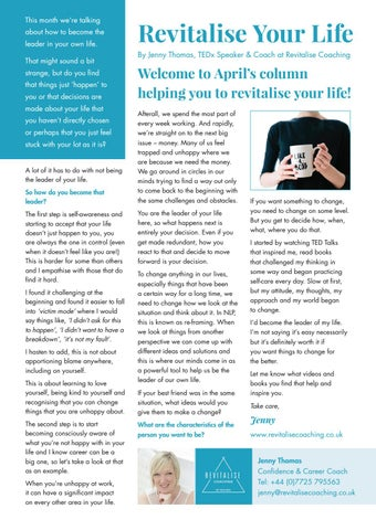 Page 26 of Revitalise Your Life