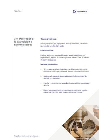 Page 13 of Derivados de la exposición a agentes físicos