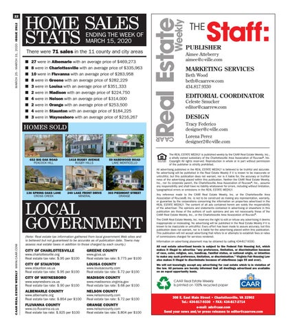 Page 22 of Home Sales Stats
